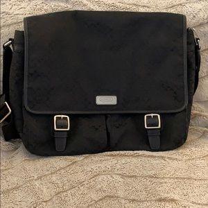 Coach Monogram Laptop Messenger Travel Bag